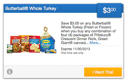 SavingStar Coupon: Save on a Butterball Turkey!