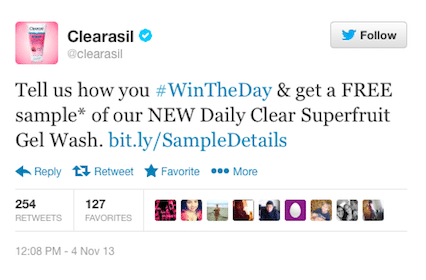 Clearasil Daily Clear Refreshing Superfruit Gel Wash Sample – Twitter