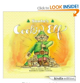 Kids Christmas eBook: Santa's Cookie Elf