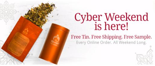 Tin + Tea Blend Sample + Free Shipping from Teavana.com