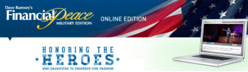 Dave Ramsey Financial Peace University Membership for Veterans (1st 2,000!)