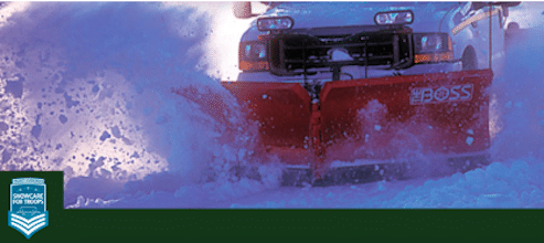 Snow & Ice Removal Services for Military