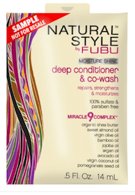 Natural Style by FUBU Hair Care Samples