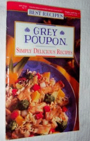 Grey Poupon Recipe Booklet {Call in}