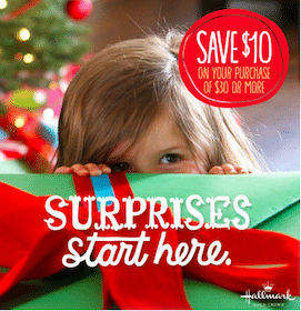 Hallmark Gold Crown Coupon: Save $10 off a $30 Purchase