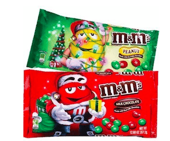 2 Bags of Holiday M&Ms at Rite Aid (Starting 11/28)