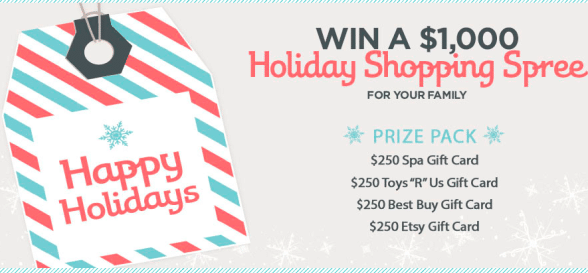 Red Tricycle 2013 Holiday Giveaway: Enter to Win $250 Toys R Gift Card, $250 Best Buy Gift Card + More