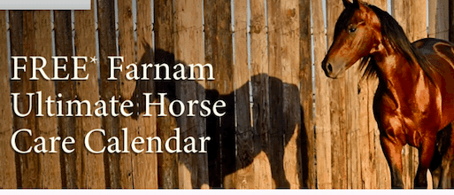 Farnam 2014 Ultimate Horse Care Calendar
