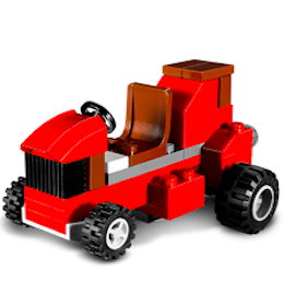 LEGO Tractor Mini Model  Build on 11/5