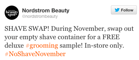 Deluxe Grooming Sample at Nordstrom