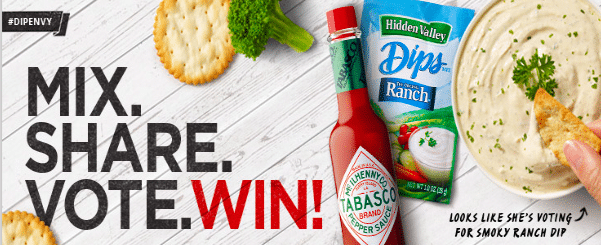 Hidden Valley Ranch Instant Win Game (87 FREE Amazon Gift Cards!)