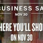 Small Business Saturday November 30, 2013