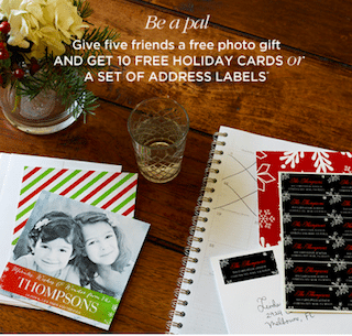 10 Cards or Set of Address Labels from Shutterfly (Just Give 5 Friends a Free Magnet or Mouse Pad)