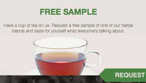 Anna Naturals Herbal Tea Sample
