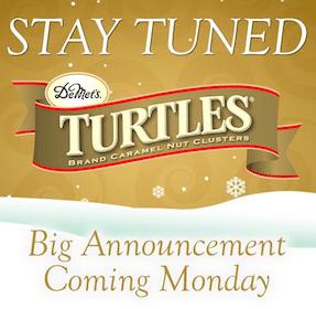 DeMet's TURTLES Holiday Packages Next Week