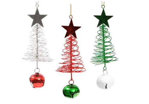FREE 3-Piece Christmas Ornaments!
