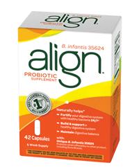 FREE 7-Count Box Of Align Probiotic Sample