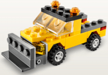 Free LEGO Snowplow Mini Model Build at LEGO Stores