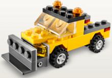 Free LEGO Snowplow Mini Model Build at LEGO Stores