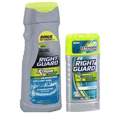 Buy 2 Right Guard Personal Care Products and get 1 for FREE