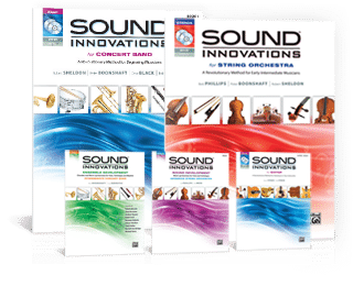 Free Sound Innovations Clarinet, Violin & Guitar Book Sample