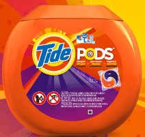 Free Lid Re-Sealable Stickers for Tide Pod Tubs