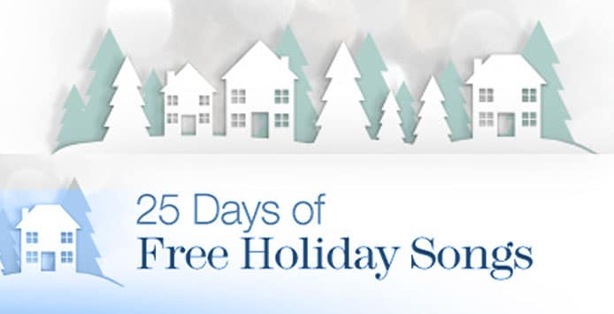 FREE MP3 Holiday Song Downloads from Amazon.com (Final Week)