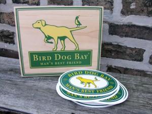 Free Bird Dog Bay Bumper Sticker