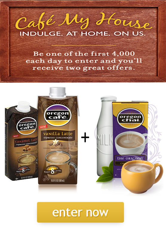 FREE Oregon Cafe Expresso Latte Concentrate + $2.50 Chai Coupon