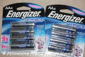 Save $3 off when you buy Energizer Ultimate Lithium Batteries