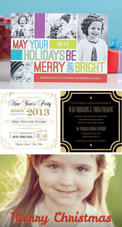 10 FREE Holiday Cards Coupon from Mixbook