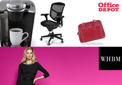 FREE $5 Office Depot Gift Card + $10 White House Black Market Gift Card