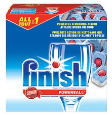 Free Finish Power & Dishwashing Detergent Sample