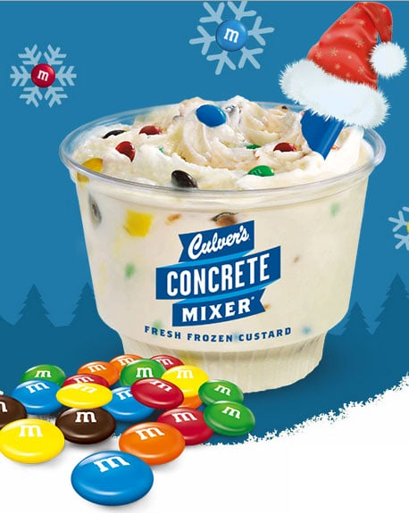 FREE Culver's M&M's Frozen Custard For A Friend