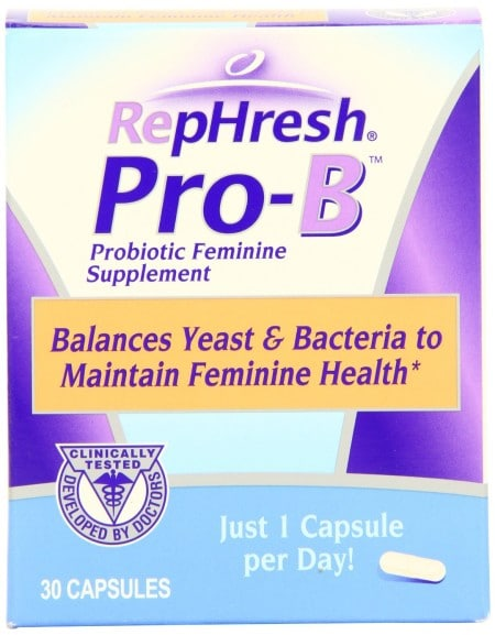 FREE Sample of RepHresh Pro-B Feminine Probiotic (Facebook)