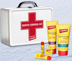 Free Carmex Winter Survival Kit Samples