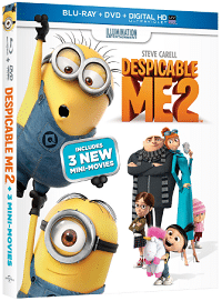 Free Despicable Me 2 Blu-Ray Combo Sample Pack