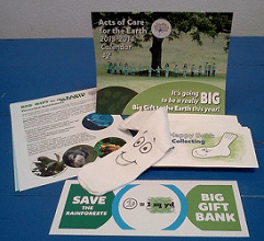 Free Earth's Birthday Project Big Gift Kit 2014 For Educators & Homeschoolers