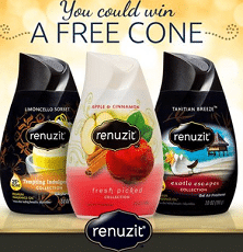 Free Renuzit Cone Samples