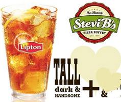 Free Lipton Tea at Stevi B's