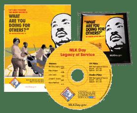 Free MLK DVD, Posters, Stickers, Bookmarks, Door Hangers