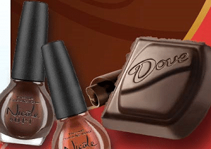 Free 2 Bottles of NICOLE by OPI Nail Polish and DOVE Chocolate Giveaway