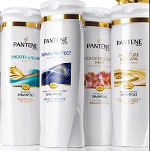 Free Pantene Shampoo & Conditioner Samples
