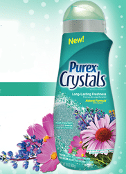 Free Bottle of Purex Crystals Fresh Mountain Breeze Sample