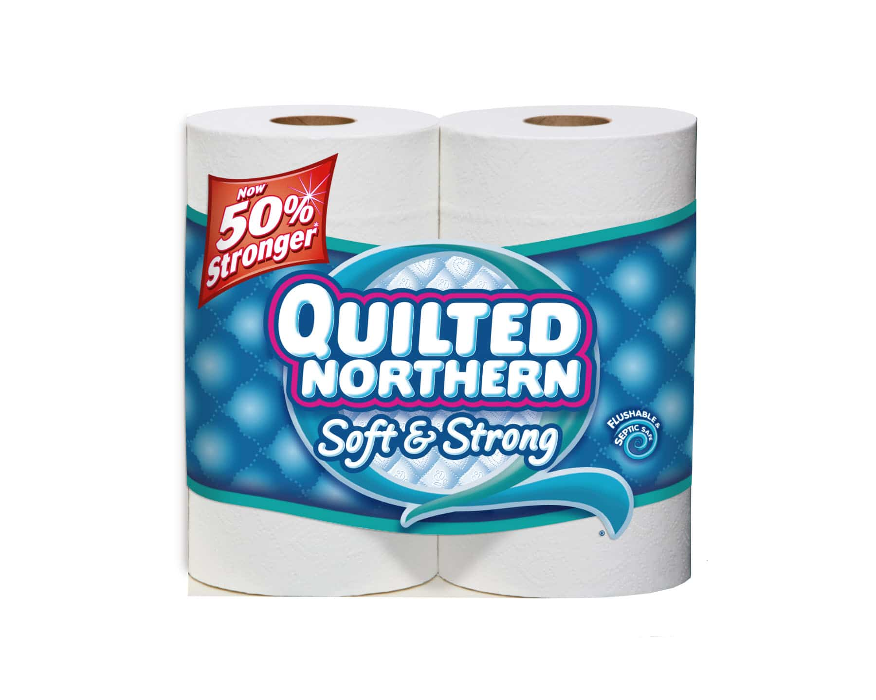 Save $1 off when you buy 1 Quilted Northern (12 double roll) bath tissue