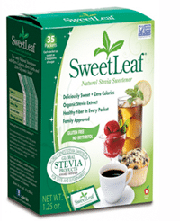 Free SweetLeaf Stevia 6 Pack Samples
