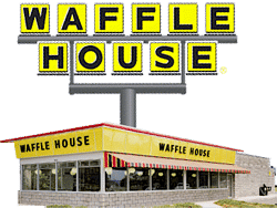 Free Waffle at Waffle House