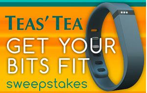 Free TEAS' TEA Wellness Fitness Tracker Samples