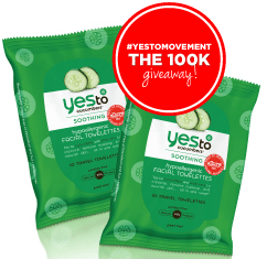 Free Yes To Carrots Wipes 10-Count Pack Sample