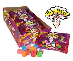 Save $1.00 off when you buy any 1 Warheads Pucker Packs